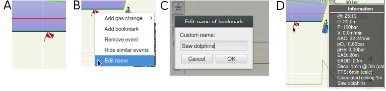 FIGURE: Bookmark dialog